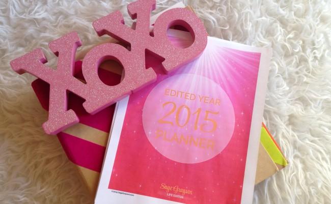 Edit Year 2015 Planner