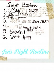 Happy Habit: Night Routine
