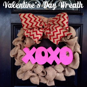 Valentine's Day Wreath Tutorial by Jen & Co